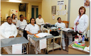 How to become a certified nursing assistant.