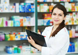 Working as Pharmacy Assistant