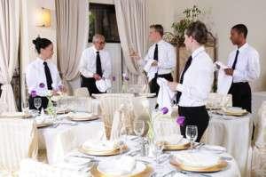Banquet Server job description, duties, tasks, and responsibilities