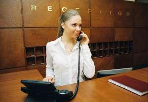 Hotel Receptionist job description, duties, tasks, and responsibilities