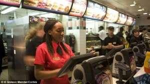 McDonald's Cashier job description, duties, tasks, and responsibilities