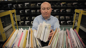 Mailroom Customer Service Associate job description, duties, tasks, and responsibilities