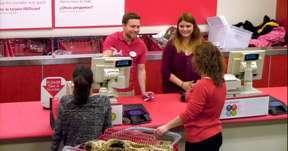 Target hiring process.