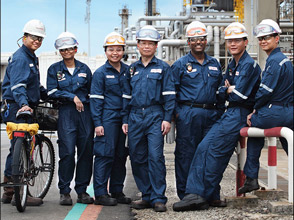 Working for ExxonMobil