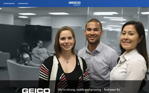 Working for Geico