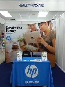 Hewlett-Packard Job Application.