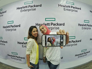 Working for Hewlett-Packard