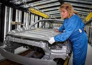 Working for General Motors.