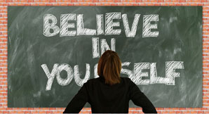 Ways to maintain confidence after failure.